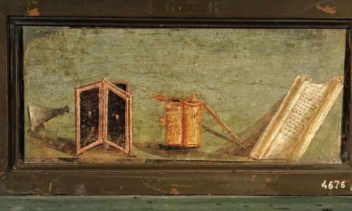 В древнеримских папирусах нашли свинец