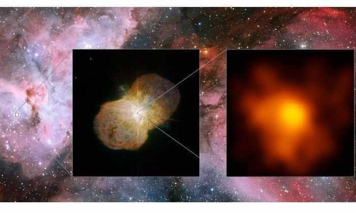 Астрономы засняли одну из самых жестоких звездных битв в галактике
