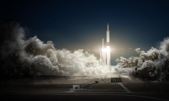 SpaceX совершила запуск спутника с третьей попытки. Без привычного хэппи энда
