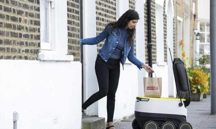 Самоуправляемые роботы начнут доставлять еду в Лондоне