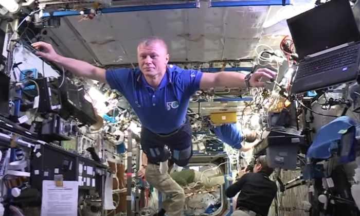 «Манекен челлендж» в космосе: астронавты МКС изобразили манекенов
