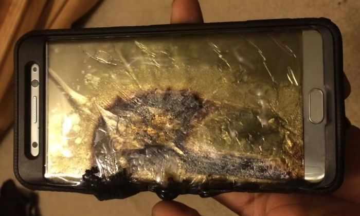 Samsung сообщила, почему взрываются телефоны Galaxy Note 7