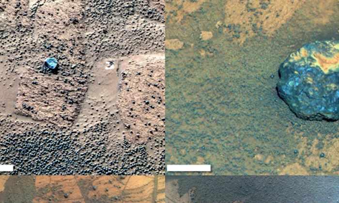 Найденные на Марсе метеориты