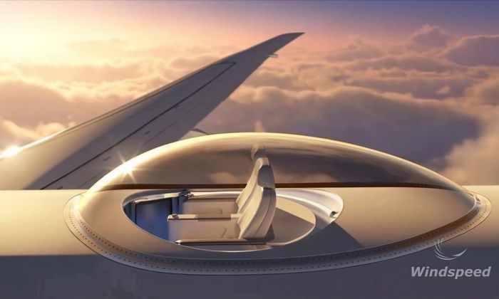 Инженеры создали панорамные палубы для самолетов