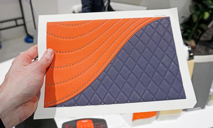 Принтер превращает бумагу в искусственную кожу, дерево или кожу аллигатора