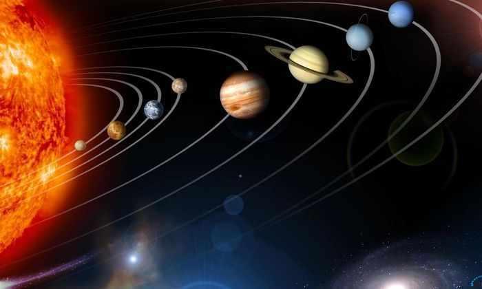 Разработана световая гирлянда в виде планет Солнечной системы