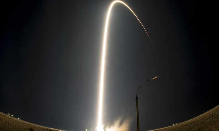 Самая маленькая в мире ракета-носитель рухнула в Японское море