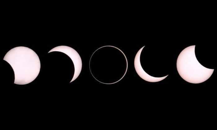 Пропустили кольцевое солнечное затмение 1 сентября?