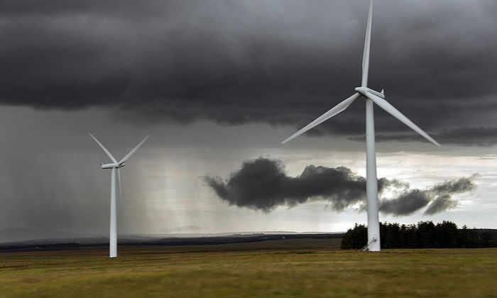 В Шотландии за один день ветряные установки выработали больше энергии, чем необходимо стране