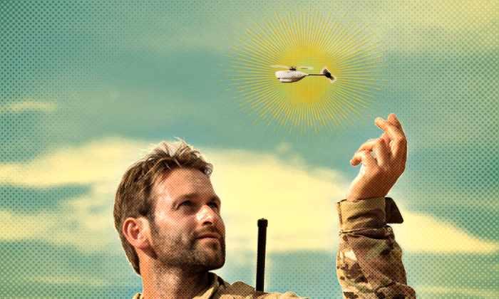 Карманный дрон будет служить в американской разведке