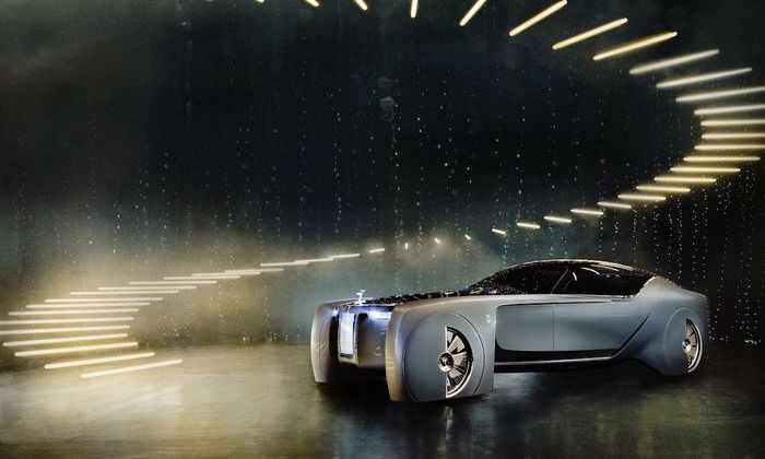 Видео: Rolls-Royce разработал концепцию самоуправляемого автомобиля
