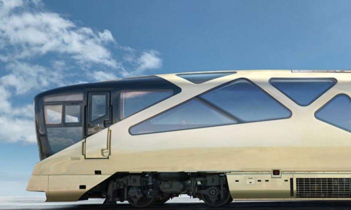 В Японии запустили люксовый поезд для путешествий. Изнутри он похож на гостиницу