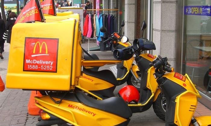 У McDonald's появился сервис доставки в Москве