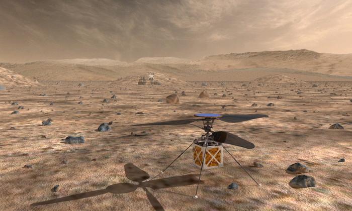 В NASA предложили использовать дроны для исследования Марса