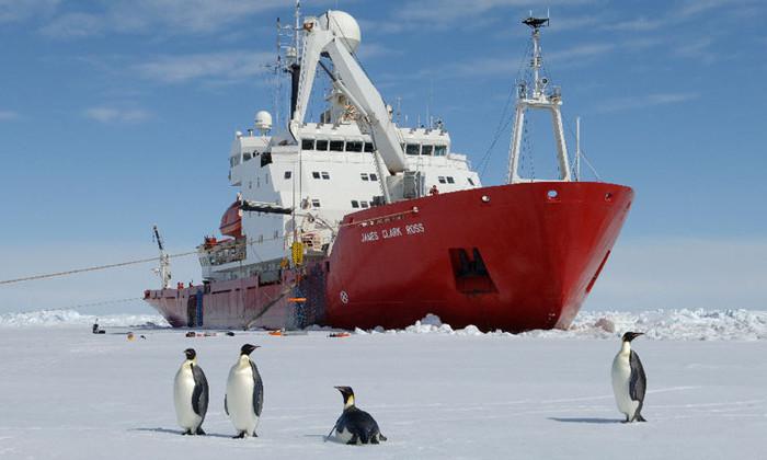 Корабль, на котором в феврале отправится вторая экспедиция