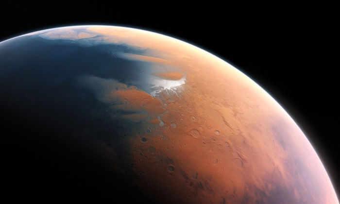 Океан на Марсе назвали результатом астероидной бомбардировки