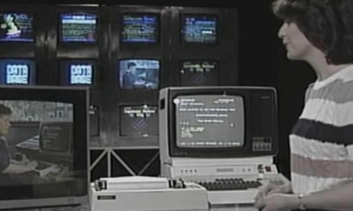 Как отправляли email в 1984-м