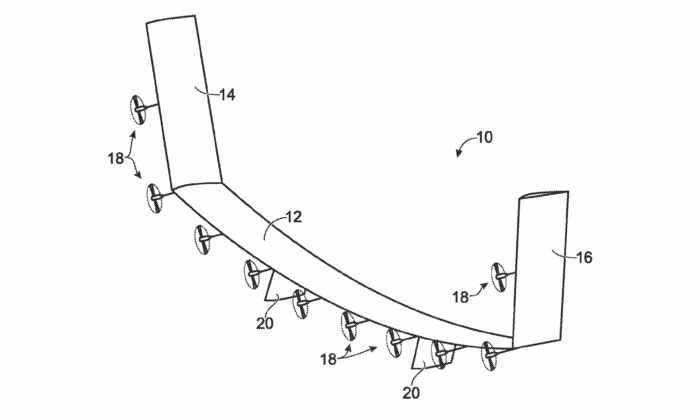 Boeing запатентовала самолет-спутник, который может оставаться в воздухе годами