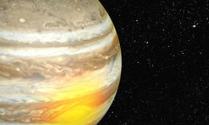 Красное пятно нагревает атмосферу Юпитера на высоте 800 километров
