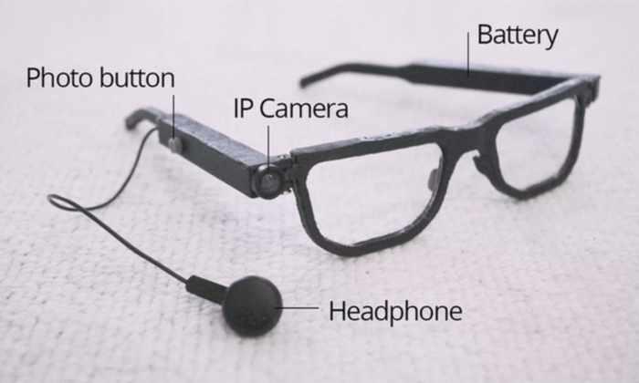 Видео: поляки сделали говорящие очки для слепых и слабовидящих
