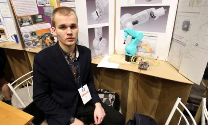 Ученик московской школы стал лауреатом международного научно-инженерного конкурса