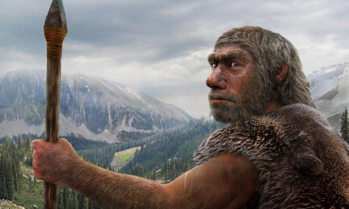 Реконструкция неандертальца