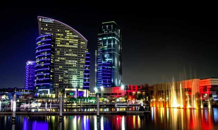 В Дубае достраивают самую большую в мире «фоторамку»