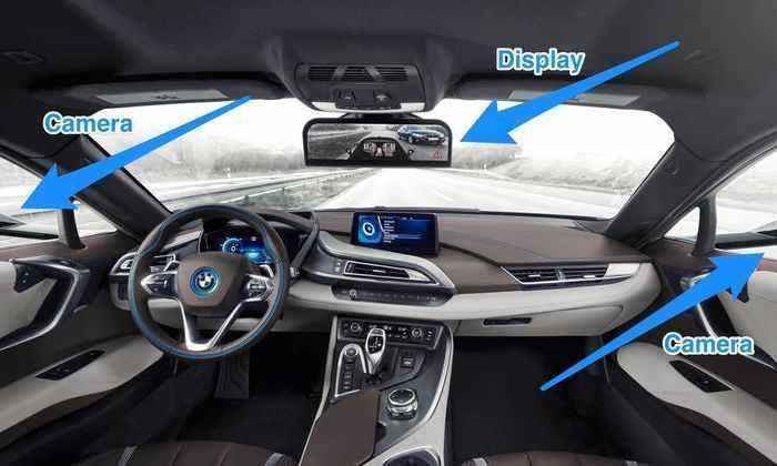 На дорогах Японии появятся машины без зеркал