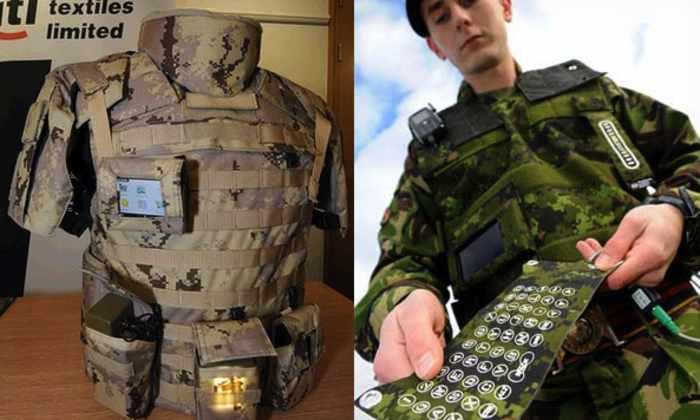 Пентагон инвестирует в «умные ткани»