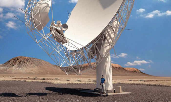 Получено первое изображение с самого мощного радиотелескопа в мире
