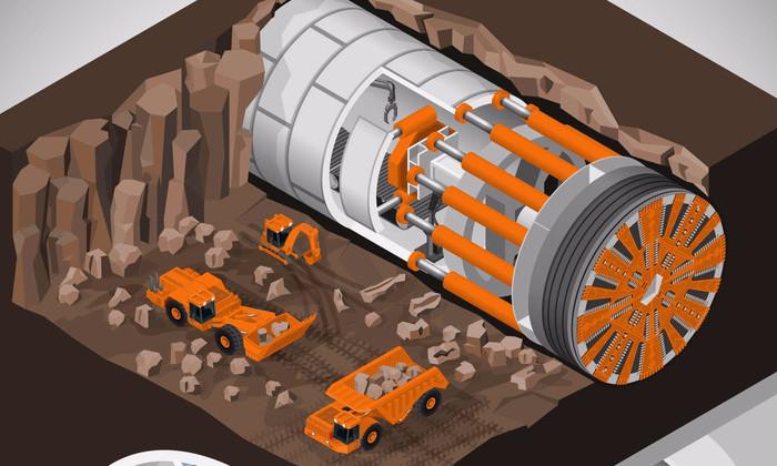 Илон Маск показал видеозапись с испытаний скоростного тоннеля