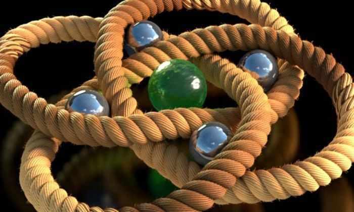 Ученые создали самый крепкий в истории науки молекулярный узел