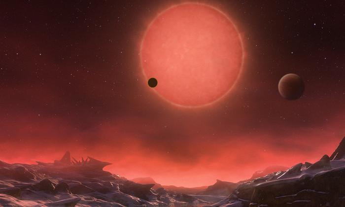 Система TRAPPIST-1 обошла Землю в шансах на возникновение жизни