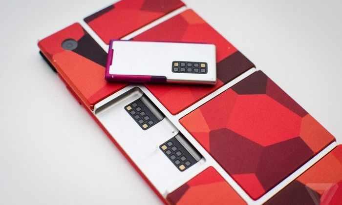 Видео: Модульный смартфон от Google складывается из частей, как лего