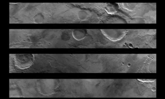 Зонд «Экзомарса» заснял Марс с максимально близкого расстояния