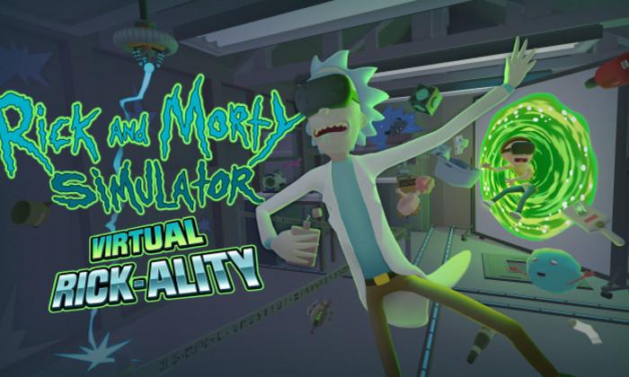 Рик и Морти в виртуальной реальности
