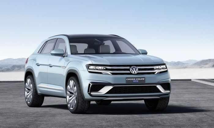 Volkswagen покажет в Китае новый супервнедорожник