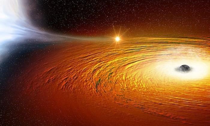 Астрономы нашли звезду, вращающуюся вокруг черной дыры