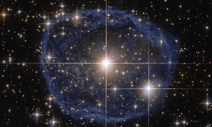 Туманность вокруг WR 31a