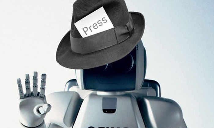 В Китае робот-журналист написал статью за одну секунду