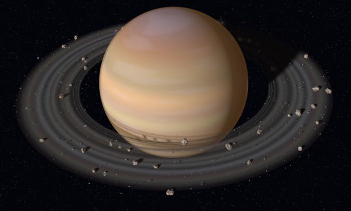 Полет над Сатурном: NASA показало видео первого погружения «Кассини»