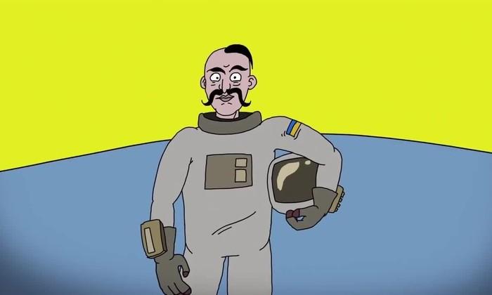 Украина хочет создать лунную . А искусственное сало уже готово