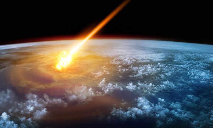 Над Архангельской областью пролетел метеор