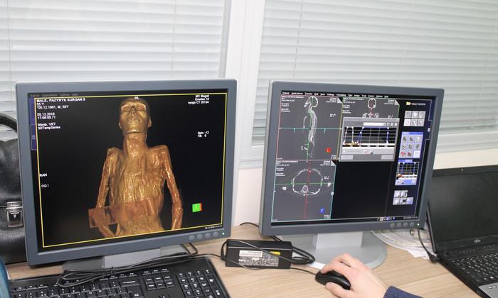 Древним мумиям из Эрмитажа впервые сделали томографию