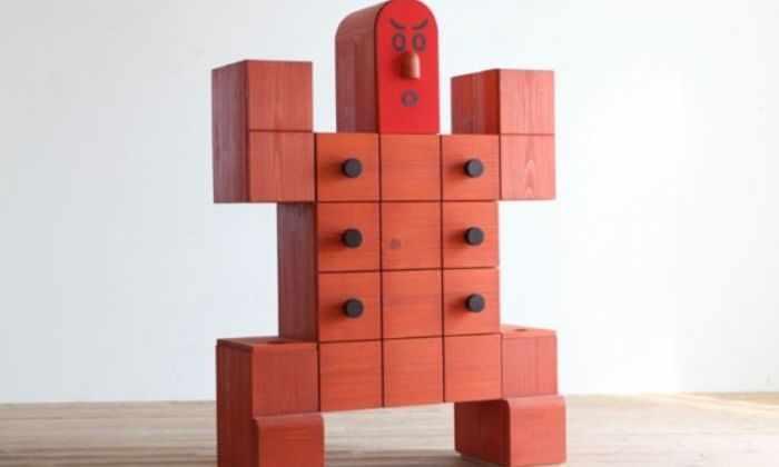 Видео: роботизированная мебель собрала всю квартиру в один шкаф