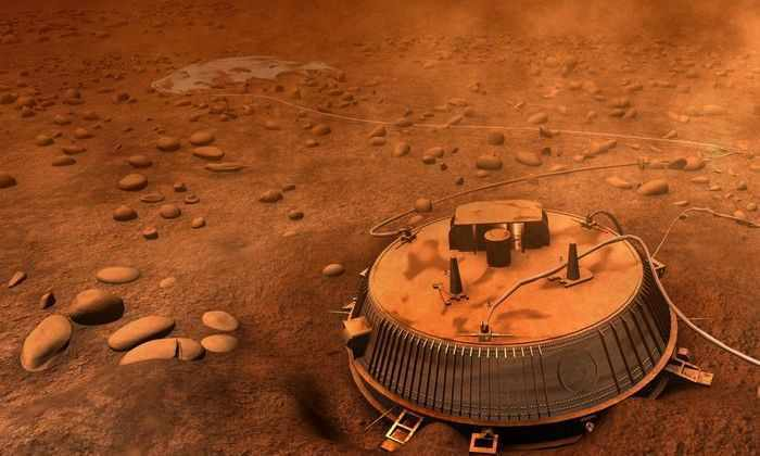 Приземлиться на Титан глазами НАСА: опубликована съемка с посадочного зонда