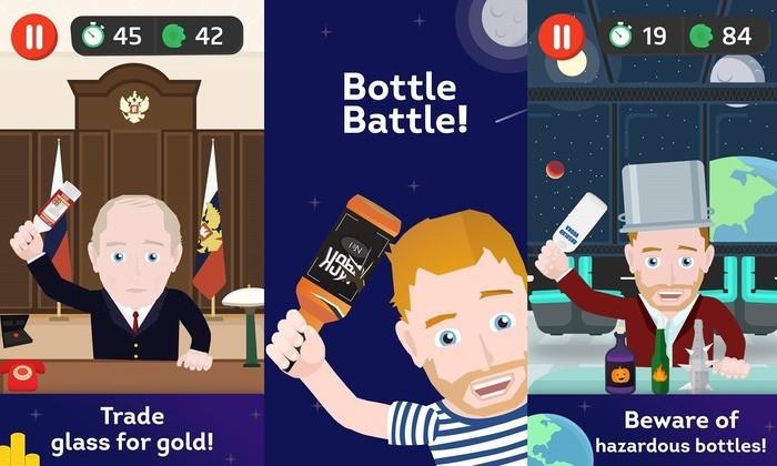 Apple отказала российскому разработчику в игре, где надо разбивать бутылки о голову