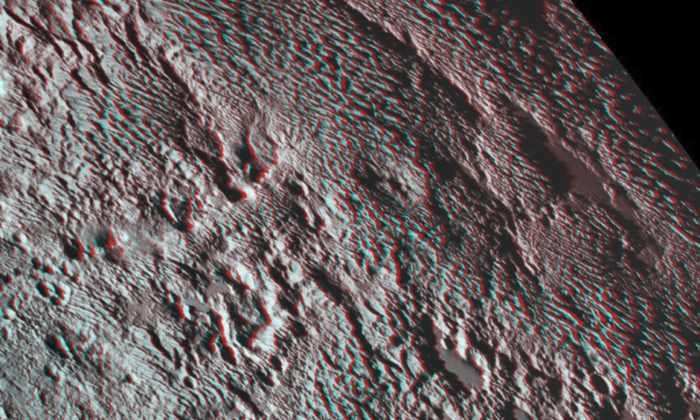 НАСА показало «чешуйчатый» Тартар на Плутоне