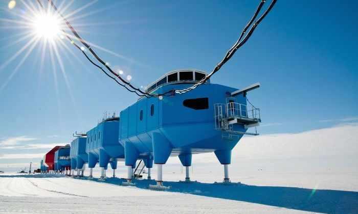 Британская станция в Антарктике может уплыть в океан