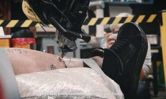 Создан первый робот-татуировщик